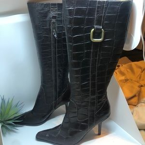 Nine Weat knee high Leather Boots